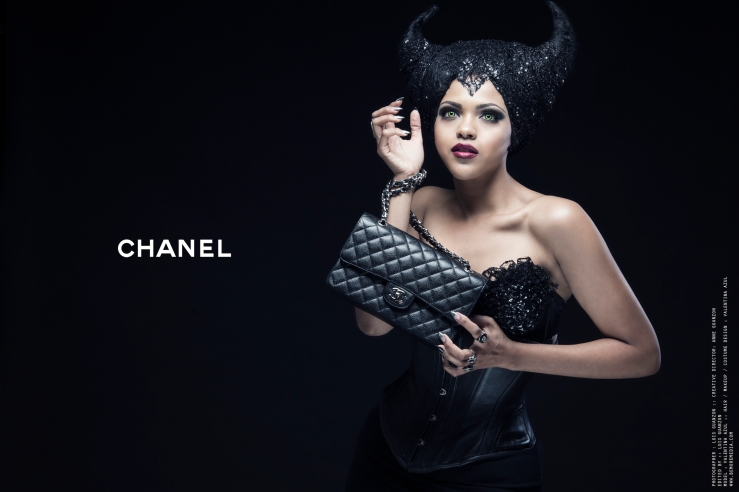 Maleficent for CHANEL